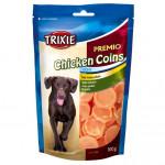 Friandise au poulet coins
