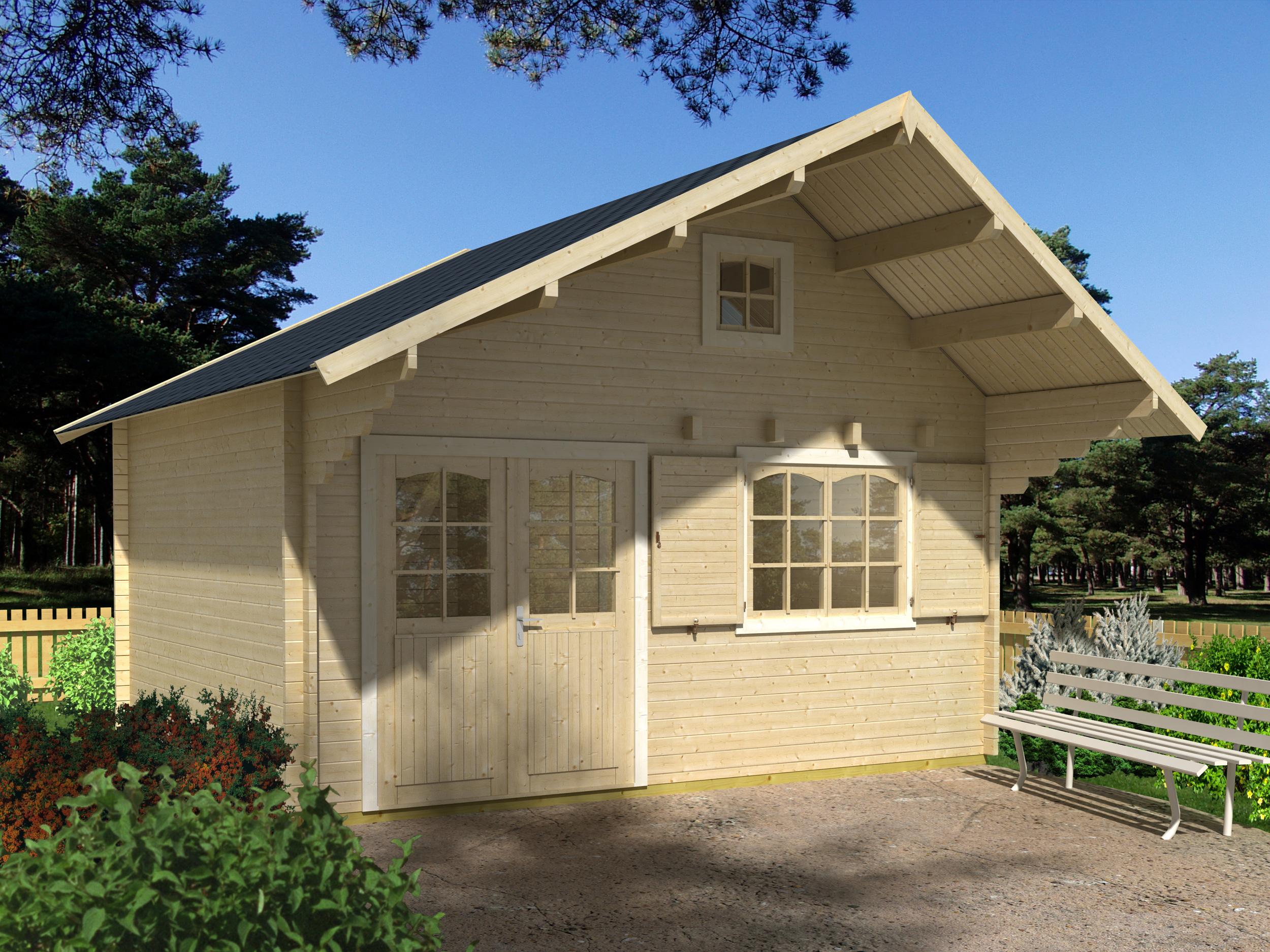 Abri De Jardin Habitable Avec Mezzanine – Acorelis.info