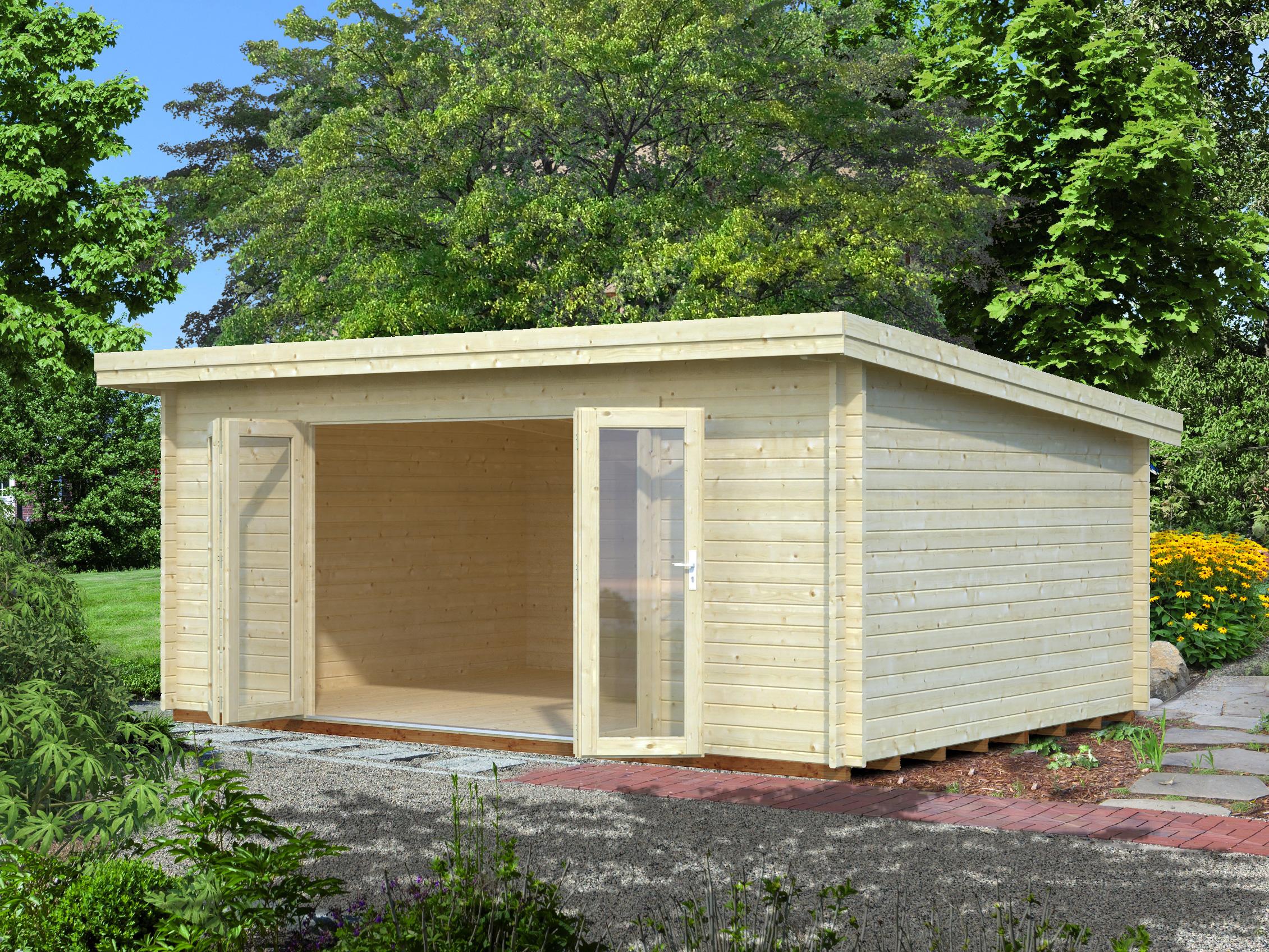 Abri de jardin lea 19 4m jardi aisne animalerie for Green garden rooms