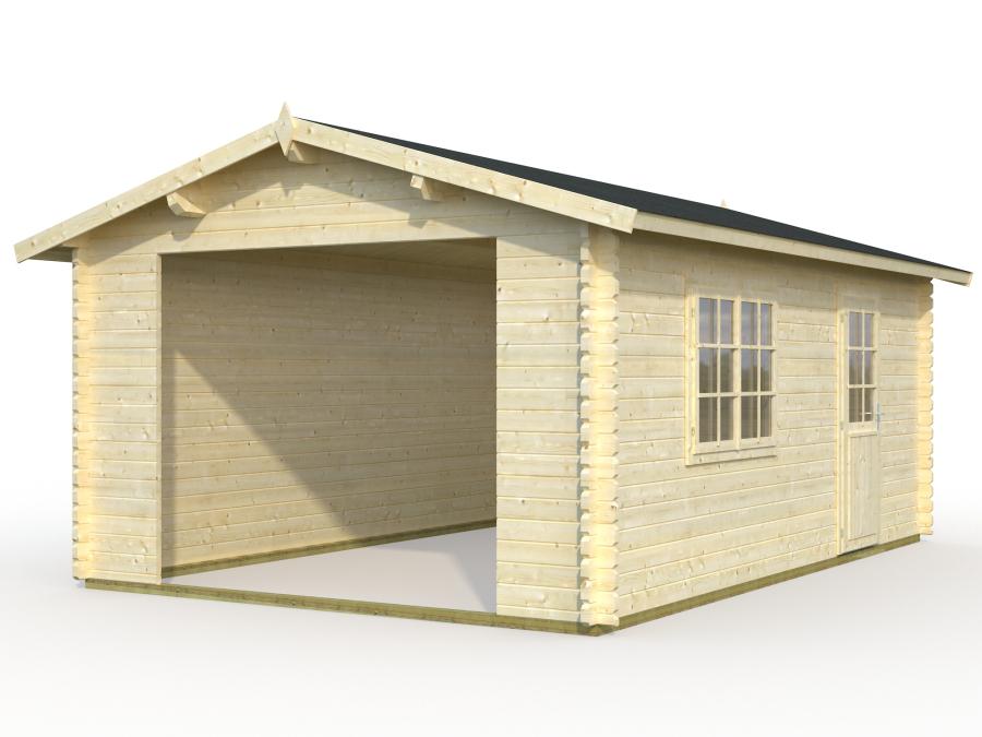 Garage 3 sans porte jardi aisne animalerie jardinerie - Porte de garage sans retombee de linteau ...