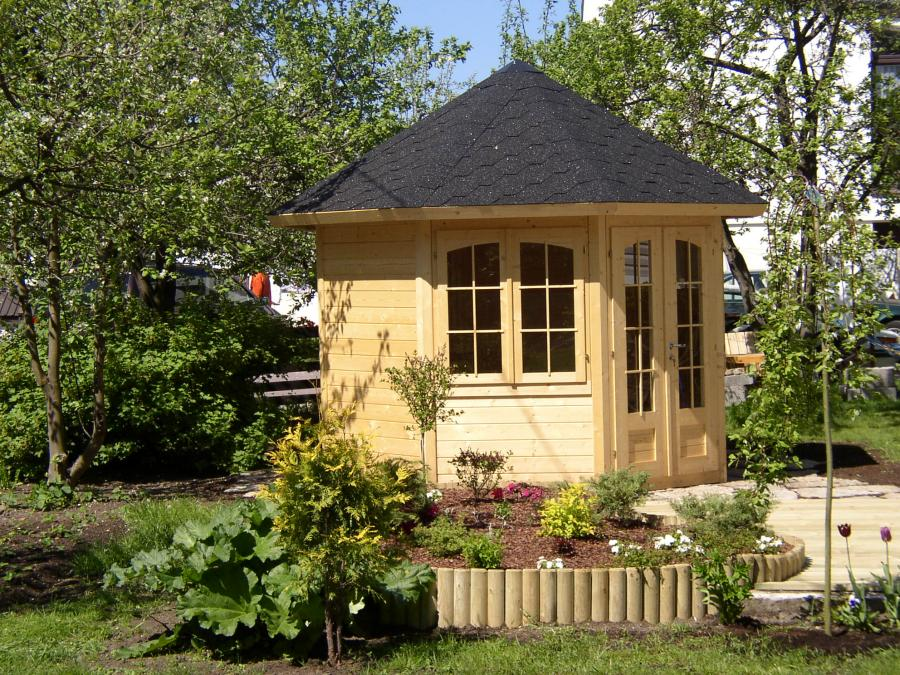 Best Abri De Jardin En Bois Octogonal Contemporary - House Design ...
