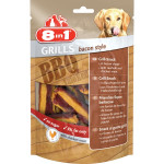 Friandise chien 8 en 1 grills bacon style